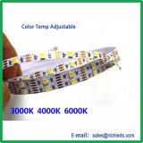 多彩なか防水Rgbwcw 5in1 LEDの屈曲Strip/24V/60PCS/M