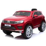 Езда Volkwagen лицензии на автомобиле