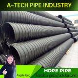 물 배수 시설 해결책을%s HDPE Double-Wall 물결 모양 관