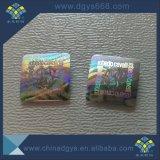 Heißer stempelnder Hologramm-Aufkleber-Gebrauch für Kleidung