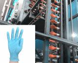 Guanti chirurgici a gettare che fanno il guanto della macchina che fa il lattice delle macchine