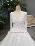 Corsetto bianco nuziale dell'a cristallo della parte superiore del blog del vestito da cerimonia nuziale di Aolanes