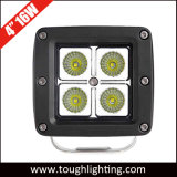 12V 24V de Lichten van het 3 Waterdichte Vierkante Offroad LEIDENE CREE van de Duim 16W Werk van de Kubus