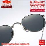 3532 lunettes de soleil polarisées colorées pliables de mode unisexe