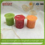 Vela votiva perfumada barata hecha a mano de calidad superior en la promoción
