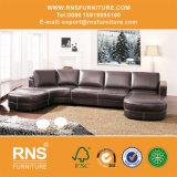 Grosses Größen-Ecken-Leder-Sofa 6014#