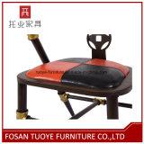 Stoel van het Restaurant van het Metaal van het Ijzer van de fabrikant de In het groot Chinese Moderne