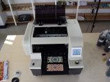 Plano ULTRAVIOLETA de la máquina de la impresora del cartón de la inyección de tinta de A4UV