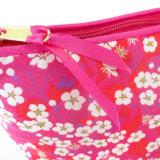 Sacchetto cosmetico bello di colore rosa caldo di Mitsi del tessuto (BDY-1709028)
