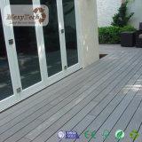 Anti-UVzusammengesetzter hölzerner PlattformWPC Decking-im Freienbodenbelag