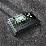 2017 neue 20AMP 12V/24V Hintergrundbeleuchtung Doppel-USB-Solarregler Z20