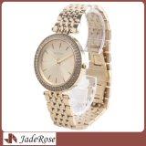 Montres-bracelet faites sur commande de mode de montre de quartz de femmes de logo pour des dames