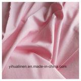 Tecido de linho, roupa de cama de algodão, tecido de linho Poly, camiseta tecido, Prensa para tecido,