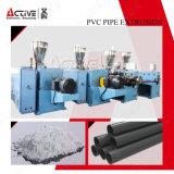 Экструзия поливинилхлоридная труба линии/пластмассовые трубы экструзии линии/трубы производственной линии