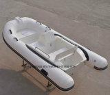 中国の肋骨のボートのLiya 3.3mのガラス繊維の堅い外皮の膨脹可能なボート