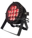 Hohe Leistung LED, die im Freien Waterpfroof 12PCS 6in1 LED NENNWERT Licht beleuchtet
