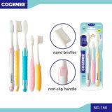 Toothbrush adulto com cerdas Nano 3 nos pais 1 & no bloco 150 da criança