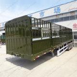 中国の工場は13mの75m3棒のベッドのトラックを供給するか、またはトレーラーまたは馬のトレーラーを囲う