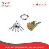 La noche el pestillo de bloqueo de Rim con separación de la puerta del cilindro de cerradura cerrojo