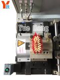 Recorte del cepillo de la escoba del CNC y máquina que señala por medio de una bandera