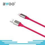 Cabo cobrando dados coloridos baratos do USB do relâmpago do preço dos micro