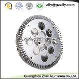 Dispositivo di raffreddamento della fusion d'alluminio/dissipatori di calore di alluminio di figura rotonda