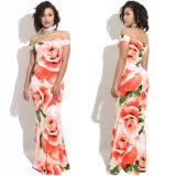 Kleid der neue Ankunfts-reizvolles Dame-Long Floral Printing Tube mit Fischschwanz