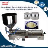 Máquina de rellenar semiautomática para la espuma del baño (G1WGD) 100-1000ml