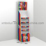 Présentoir coloré d'étage de carton de bruit pour l'étalage de livre des enfants en bas âge