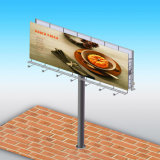 Conception personnalisée de la publicité panneaux extérieurs de la structure en acier