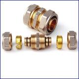 Hoge Precisie CNC die van de Delen van de Draaibank van het Metaal van het koper de Draaiende de Delen van het Messing machinaal bewerken