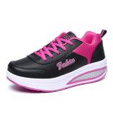Dame-rosafarbene leichte Eignung-Kursleiter-Sport-Schuhe für PU