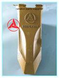 Las principales marcas de dientes de la cuchara tenedor No. 60116435K de excavadoras Sany piezas de repuesto de China