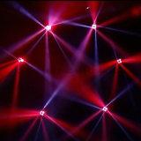 ディスコのナイトクラブ水効果ライトのための4X25W RGBW 4in1 LEDのビーム移動ヘッド
