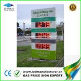 給油所のパイロンの印のためのLEDの価格の表示