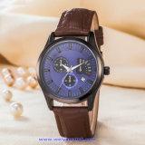 Logo personnalisé Men's montre à quartz Fashion montre-bracelet pour l'homme (WY-17009C)
