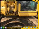 Excavador usado de KOMATSU PC130-7 del material de construcción
