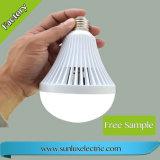 LED recargable inteligente E27 5W-12W luz de emergencia
