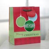 Grüner Handschuhpatten-Papierbeutel, Geschenk-Papierbeutel