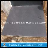 Basalto del nero della lava della pietra blu per la pietra per lastricati esterna