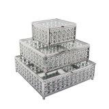 La alta calidad caja de joyas de cristal plegable baratos