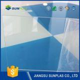 Rígido PVC transparente 3mm hoja para aislamiento de residencia