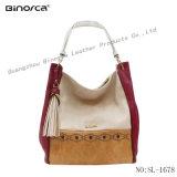 Fachmann Soem-neue Form PU Dame Handbag mit Kontrast-Farbe
