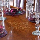 0038-2 la mano neoclassica europea di disegno ha bisogno la Tabella pranzante di legno della mobilia domestica
