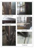 Portello moderno dell'acciaio del portello del ferro saldato del portello del ferro del doppio di stile