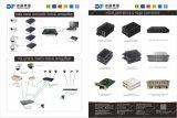 Компания Qualcomm чип 10/100/1000m единый режим односторонней печати Sc Media Converter 20км