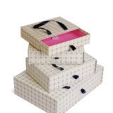 Piccolo indumento stampato personalizzato che impacca il #Giftbox elegante operato del contenitore di regalo