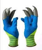 Le plastique d'ABS griffe des gants de jardin pour creuser et planter