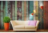 Impression environnementale de transfert thermique de papier de mur de tissu de résistance de brouillon