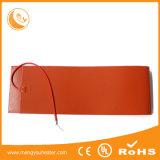 calefator da borracha de silicone de 400*250mm 12V 100W